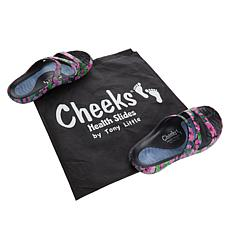 Tony Little Cheeks Health Slide with Gel Footbed