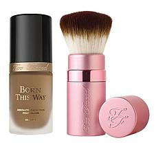 Too Faced Born This Way Foundation & Brush - Caramel
