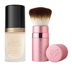 Too Faced Cloud Forever Flawless Foundation and Brush Set