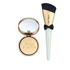 Too Faced Seashell Born This Way Foundation Powder w/Mr. Perfect Brush