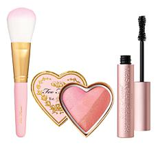 Too Faced Sexy, Sweet & Glowing Set w/Mascara, Blush and Brush