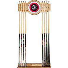 Toronto Raptors NBA Billiard Cue Rack with Mirror