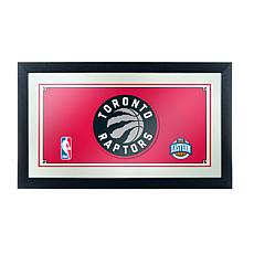 Toronto Raptors NBA Framed Logo Mirror