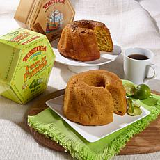 Tortuga Golden Rum Cake & Florida Key Lime Rum Cake Duo