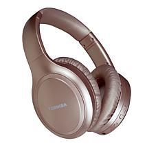 Toshiba Over-Ear Noise-Canceling Wireless Headphones