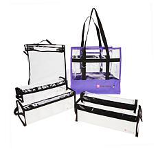 Totally Tiffany Buddy Bag Craft and Go 6-piece Bundle - Purple