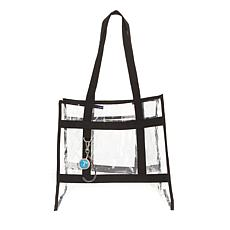 Totally-Tiffany Clear Vinyl Tote