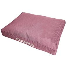 Touchdog Hushky Water-Resistant Premium Rectangular Raised Dog Mat