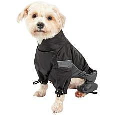 Touchdog Quantum-Ice Full-Body Adjustable Reflective Dog Jacket