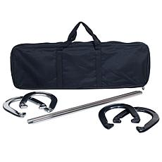 Trademark GamesT Horseshoe Set - Easy to Carry