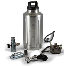 TrailKeg  64 oz. Stainless Steel Vacuum-Insulated Growler
