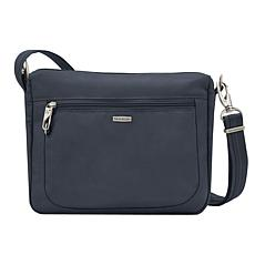 Travelon Classic Anti-Theft Small East/West Crossbody Bag