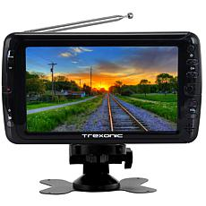 """Trexonic Portable Ultra Lightweight Rechargeable Widescreen 7"""" LED ..."""