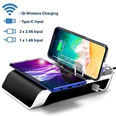Trexonic Wireless Charger with Fast Charging Dock and Wireless Char...