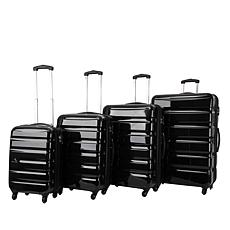 Triforce Midtown 4pc Polycarbonate Spinner Luggage