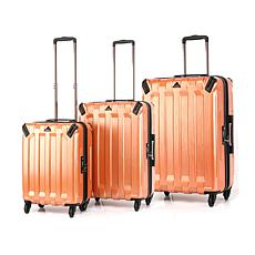 Triforce Ranger 3pc Polycarbonate Spinner Luggage