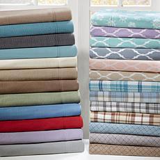 True North by Sleep Philosophy Micro Fleece Sheet Set - Blue - Twin