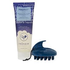 TRUHAIR 2-piece Frothy+Massage Set