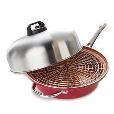 Turbo Cooker SteamCooking™ All-In-One Skillet 4-piece