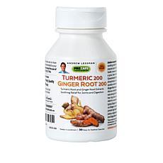 Turmeric 200 Ginger Root 200 - 30 Capsules