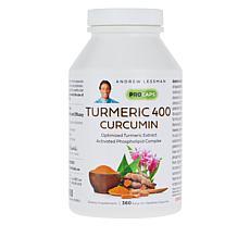 Turmeric 400 - 360 Capsules