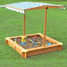 Turtleplay Sandbox with Canopy