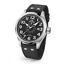 TW Steel Volante Men's 45mm Black Dial Stainless Steel Watch