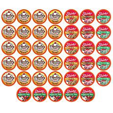 Two Rivers Coffee 40ct Ice Cream Flavored Coffee Pods Variety