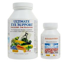 Ultimate Eye Support and Astaxanthin Kit - 540 Capsules