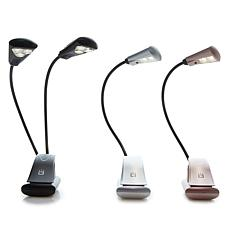 UltraBrite 6-LED and 2-LED Booklight Bundle with USB Cables