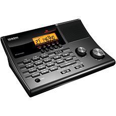 Uniden Alarm Clock 500-Channel Radio Scanner with Weather Alert