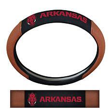University of Arkansas Sports Grip Steering Wheel Cover