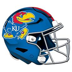 University of Kansas Helmet Cutout