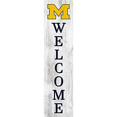 """University of Michigan 48"""" Welcome Leaner"""