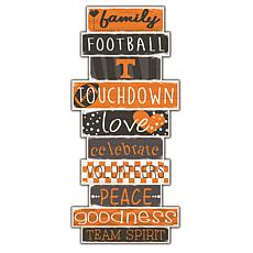 """University of Tennessee Celebrations Stack 24"""" Sign"""