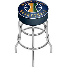 Utah Jazz NBA Padded Swivel Bar Stool