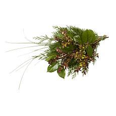Van Zyverden Live Pacific Northwest Western Evergreens Mixed Bouquet