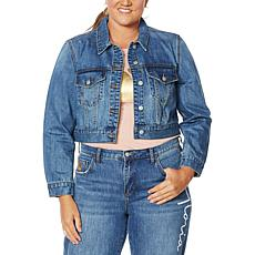 Vanderbilt Jeans Jimmie Denim Signature Cropped Jacket