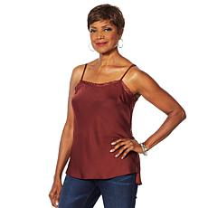 Vanessa Williams Double Duty Lace Trim Cami