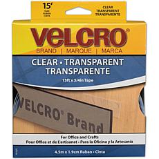 VELCRO® STICKY BACK™ Tape - 15' - Clear