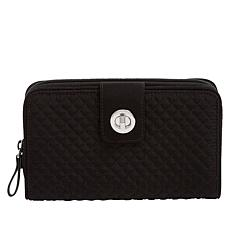 Vera Bradley Iconic Quilted Turnlock RFID Wallet