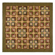 VHC Brands Tea Cabin Quilt - Luxury King