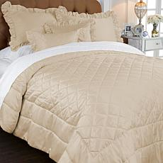 Vicky Tiel PARIS for HGM Romantique  Coverlet Set