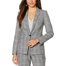 Vince Camuto Colorful Glen Plaid Blazer