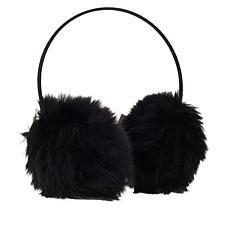 Vince Camuto Faux Fur Velvet Band Earmuffs
