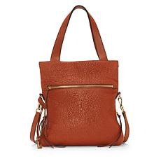 Vince Camuto Ida Leather Flap Crossbody