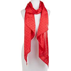 Vince Camuto Jacquard Coin Embellished Scarf