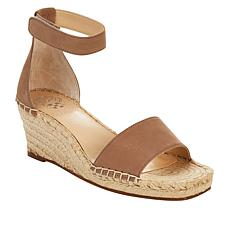 Vince Camuto Jesla Leather Espadrille Wedge Sandal