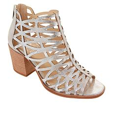 Vince Camuto Kevston Leather Block-Heel Sandal