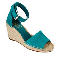 Vince Camuto Leera Leather Espadrille Wedge Sandal